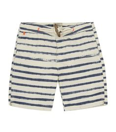 Scotch & Soda Anchor Stripe Swim Shorts