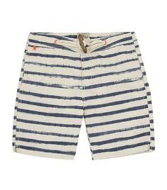 Scotch & Soda Anchor Stripe Swim Shorts