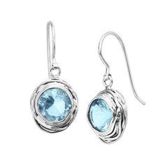 Hooked On Blue Earrings