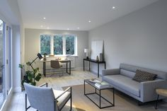 Be inspired by these imaginative garage conversion ideas and real-life projects that will enhance your space to no end. This is how to achieve something special in your home Garage To Living Space, Garage Guest House, Garage Room, Living Spaces, Garage Office, Small Garage, Garage Art, Garage Ideas, Garage Conversion To Family Room