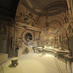 Steampunk Electro_Organ by giovani magana | Steampunk | 3D | CGSociety