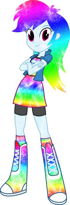 Galaxy EG Rainbow Dash by DigitBrony on DeviantArt