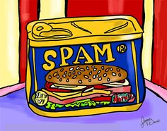 SPAM - free to download kitchen art