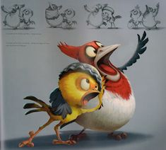 Rio - concept art Blue Sky Studios 20th Century Fox Animation