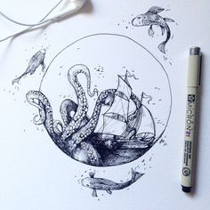 little tattoo — wild sea…