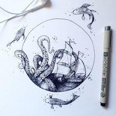 little tattoo — wild sea…