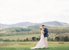Who dreams of saying their vows in the midst of natural beauty of the hills will surely love this wedding.  on http://www.bridestory.com/blog/pippin-hill-farm-wedding