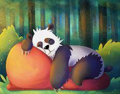 "Check out new work on my @Behance portfolio: ""Sleepin Panda"" http://be.net/gallery/50623639/Sleepin-Panda"