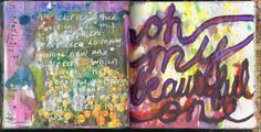 Art journal pages 4.9.12