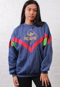 Vintage+Adidas+Sweatshirt