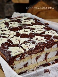 Cupcake at the Cook Expert - HQ Recipes Polish Desserts, Polish Recipes, Sweet Recipes, Cake Recipes, Poland Food, Delicious Desserts, Yummy Food, Different Cakes, Savoury Cake