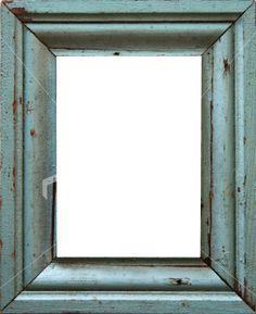 turquoise frame Royalty Free Stock Photo