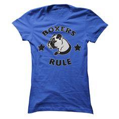 Boxers Rule!  (with stars) T Shirt, Hoodie, Sweatshirt
