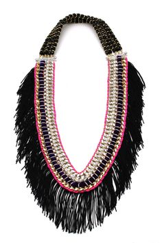 Akong Necklace, Fall 2011-->reminds me of Beyonce's album cover for '4.' This is great!