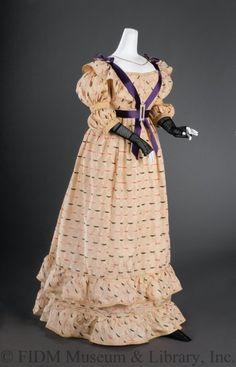 Dress 1822-1826 The FIDM Museum