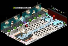 ¡Join the Fashion Show on habbo.es! ¡Cool room made by Onhabbo staff! :D
