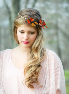 Fall Color and Monarch Crowns from the serenitycrystal