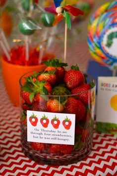 The Very Hungry Caterpillar, by Eric Carle Baby Shower Party Ideas | Photo 9 of 22 | Catch My Party