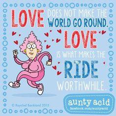Enjoy the ride! #AuntyAcidsLoveShack