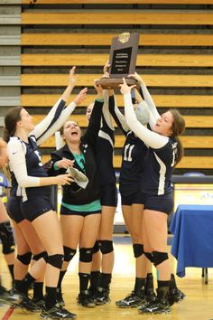 fcfe0fe9 Brooke Gilbertson and the 2014 team hoisting their NJCAA DIII National  Championship trophy high for all