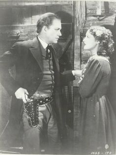 Original, vintage photo from The Girl of the Golden West of Nelson Eddy and Jeanette MacDonald - ESCANO COLLECTION