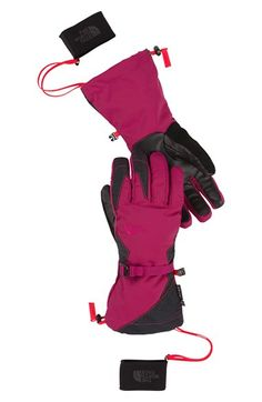 The North Face 'Montana E-Tip™' Waterproof Tech Compatible Gloves available at #Nordstrom