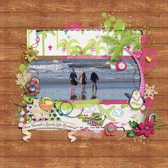 Digital Scrapbooking Kit - HAPPY HULADAYS   ForeverJoy Designs