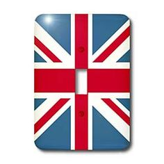 British Flag - Flags of the world - United Kingdom Light Switch Cover