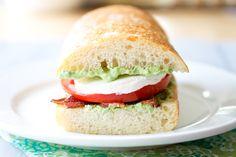 bacon pesto tomato sandwich 2