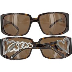 You Gotta Have Heart - Tortoise $80  Brighton Sunglasses at The Chama www.TheChamaClaremont.com
