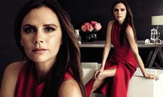 Victoria Beckham is named one of Glamour's Women Of The Year | Daily Mail Online
