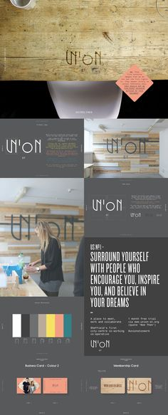 Union Street Co-Working — Identity and branding.