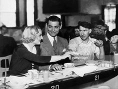 Carole Lombard & Clark Gable -1932