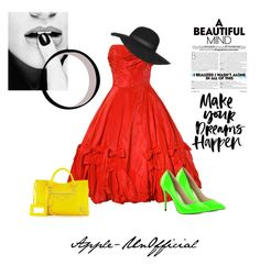 """""""Somee.....First set!!"""" by apple-unofficial ❤ liked on Polyvore featuring Balenciaga, Pleaser and Topshop"""