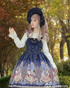 #LolitaUdpate: Honey Honey [-✌☪-Cats' Astrology-✌☪-] High Waist JSK