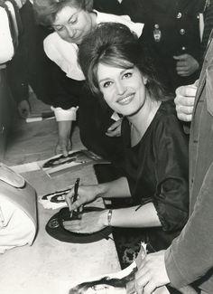 Dalida - autographe