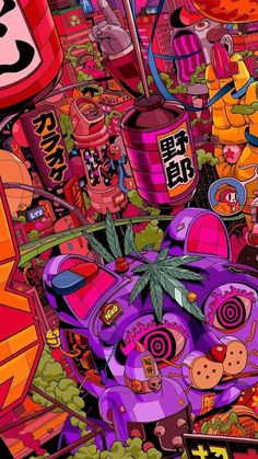 Graphic Design Inspiration The best graphic design that I have on-Grafikdesign Inspiration Das beste Grafikdesign das ich auf einem Graphic design inspiration The best graphic design I have on one design - Cartoon Wallpaper, Pop Art Wallpaper, Trippy Wallpaper, Wallpaper Backgrounds, Wallpaper Pictures, Mobile Wallpaper, Acid Wallpaper, Graffiti Wallpaper Iphone, Hippie Wallpaper