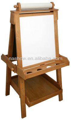 Standing Wooden Easel - Buy Children Wooden Easel,kids Wooden Easel,kids Drawing…