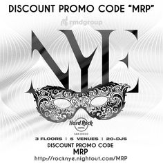 """Hard Rock New Years Eve.  For Discount Tickets use Promo Code """"MRP"""" at http://rocknye.nightout.com/mrp  ______________________________________________________________________________ http://sandiegoeventsmrp.com/entertainment/hrnye  http://sandiegoeventsmrp.com/wp-content/uploads/2015/11/Hard-Rock-New-Years-Eve-Discount-Tickets-Promo-Code-1024x1024.jpg  HARD ROCK NYE 2016 SAN DIEGO PROMO CODE DISCOUNT TICKETS MRP HARD ROCK NYE 2016 SAN DIEGO PROMO CODE DISCOUNT TICKETS MRP copy  HardRock New…"""