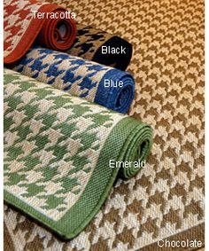 Kitchen Sink area @Overstock - Give any bedroom or living space a fashionable update with this houndstooth polypropylene area rug. Featuring a durable construction that is appropriate for both indoor and outdoor use, this striking rug would look great among modern decor.http://www.overstock.com/Home-Garden/Houndstooth-Polypropylene-Area-Rug-2-x-3/2992526/product.html?CID=214117 $18.99