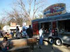 Food trailers are very famous and offer a variety of very good foods...Austin, TX