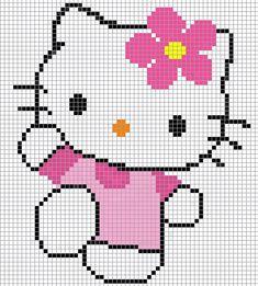 Minnie Mouse perler bead pattern - Crochet / knit / stitch charts and graphs Cross Stitch Baby, Cross Stitch Charts, Cross Stitch Designs, Cross Stitch Patterns, Loom Patterns, Beading Patterns, Embroidery Patterns, Crochet Patterns, Pixel Crochet