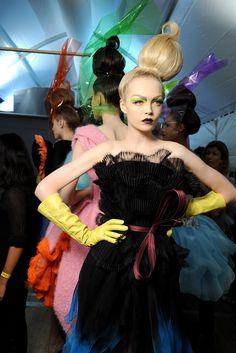 Christian Dior Fall 2010 Couture Fashion Show Beauty