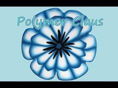 Tutorial Millefiori cane: Fiore a Doppio Petalo ( Double Petal Flower millefiori cane)