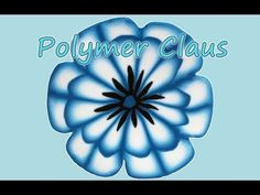Tutorial Millefiori Cane: Bordeaux Flower (polymer clay tutorial) - YouTube