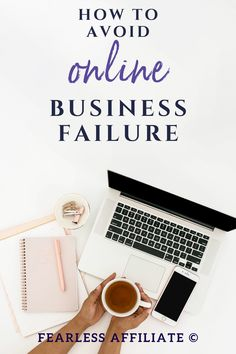 Online business mistakes to avoid by Fearless Affiliate. Avoid online business failure by planning ahead. Use these tips to avoid common beginner errors in marketing and setting up a business. #bloggingtips #startablog