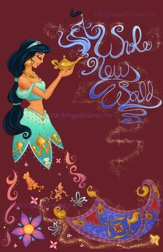 Wallpaper disney aladdin world 50 ideas Disney Pixar, Disney Merch, Deco Disney, Disney Artwork, Disney Princess Art, Disney Films, Disney Fan Art, Disney And Dreamworks, Disney Love