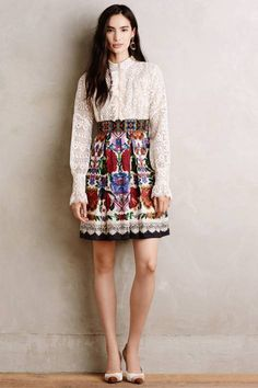 Folklorist Dress by Anna Sui | Pinned by topista.com