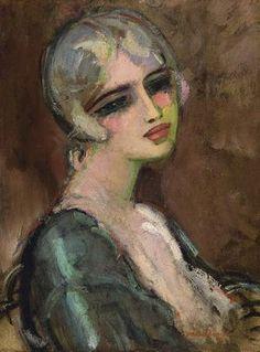 Kees van Dongen Portrait de femme (Portrait of Woman) 1930