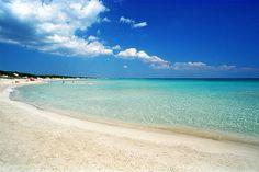 Spiaggia di Punta Prosciutto Salento Puglia   #TuscanyAgriturismoGiratola
